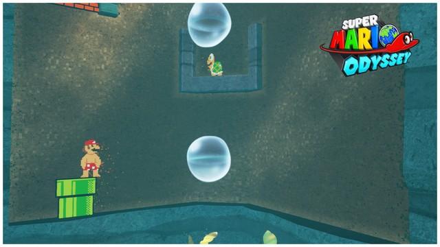Super Mario Odyssey - pays de la mer 2