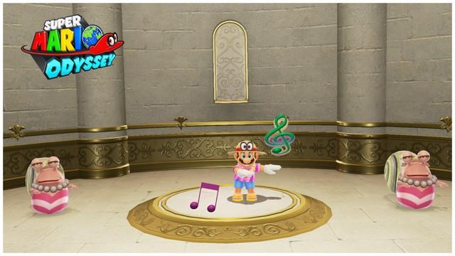 Super Mario Odyssey - pays de la mer 5