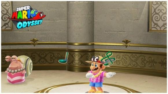 Super Mario Odyssey - pays de la mer 7
