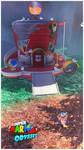 Super Mario Odyssey - pays de la foret 12