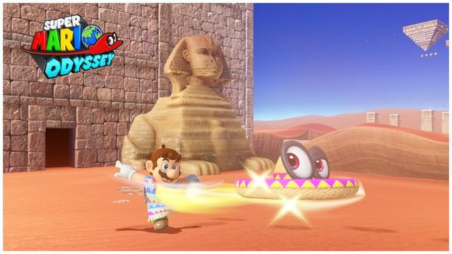 Super Mario Odyssey - pays des sables 14