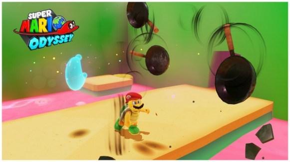Super Mario Odyssey - pays de la cuisine 4