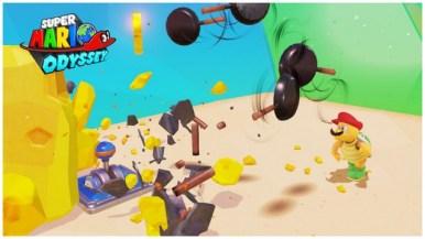 Super Mario Odyssey - pays de la cuisine 3