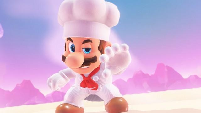 Super Mario Odyssey - pays de la cuisine 8