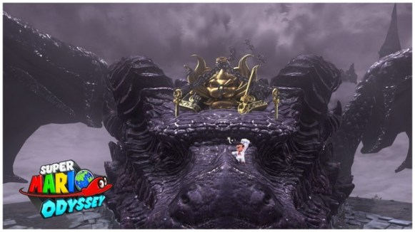 Super Mario Odyssey - pays des ruines 4