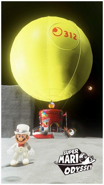 Super Mario Odyssey - pays de la Lune 16