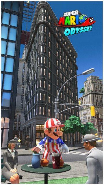 Super Mario Odyssey - pays gratte-ciel 60