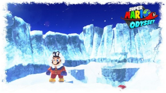 Super Mario Odyssey - pays neiges 8