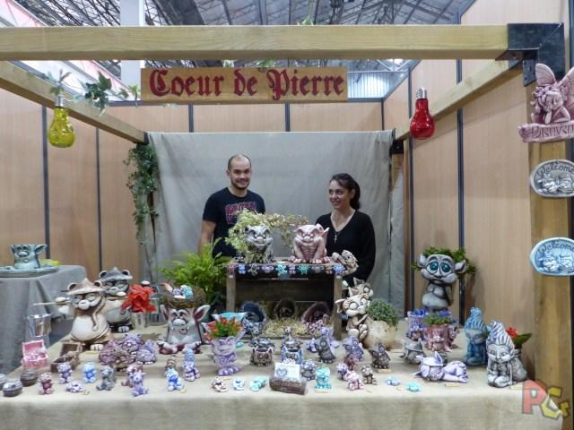 Hero Festival 2017 - Brocéliande stand coeur de pierre