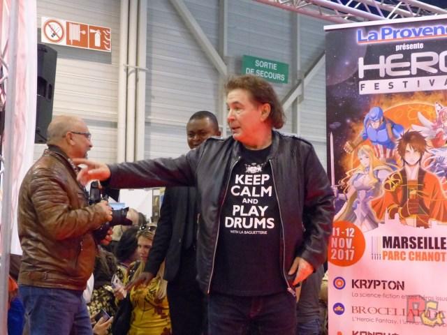Hero Festival 2017 - Bernard Minet dédicaces