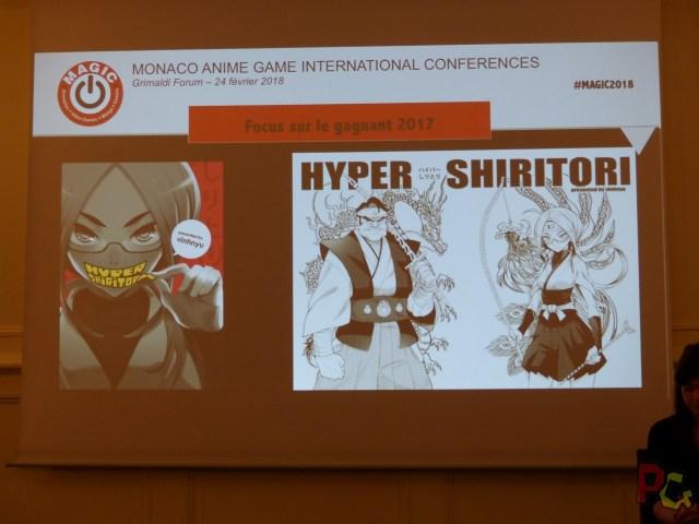 Conf presse MAGIC 2018 - Hyper Shiritori