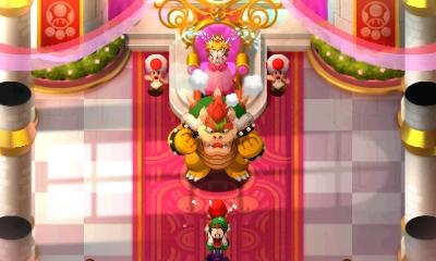 Mario et Luigi Superstar Saga - Bowser attaque