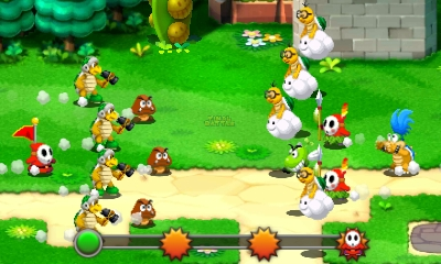 Mario et Luigi Superstar Saga - sbires combat