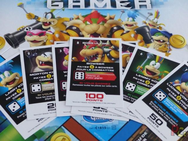 Monopoly Gamer - cartes boss