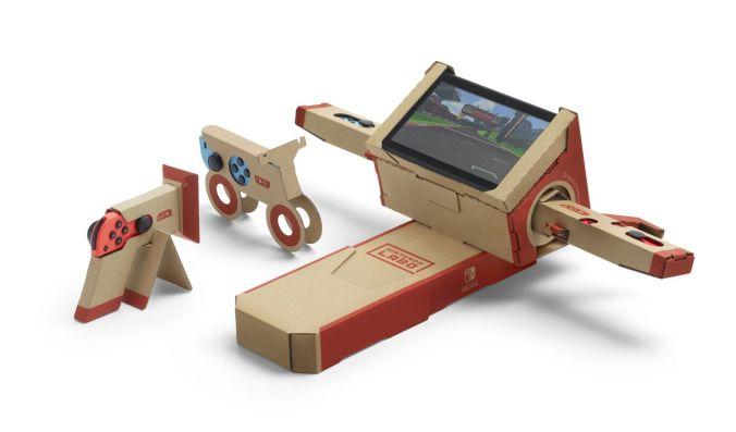 Nintendo Labo - moto