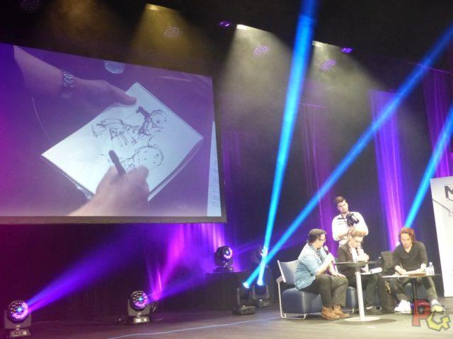MAGIC2018 - live drawing Yoji Shinkawa