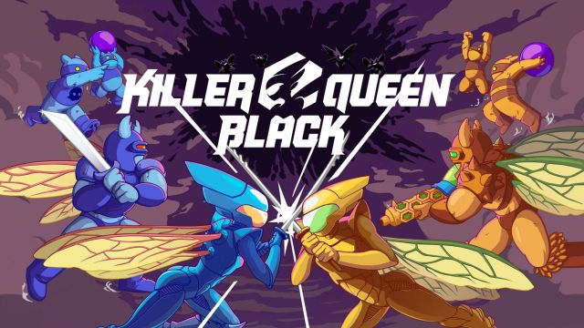 Bannière Killer Queen Black