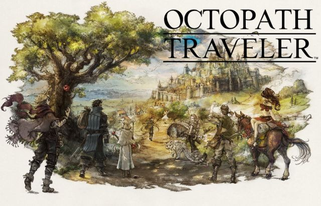 Bannière Octopath Traveler
