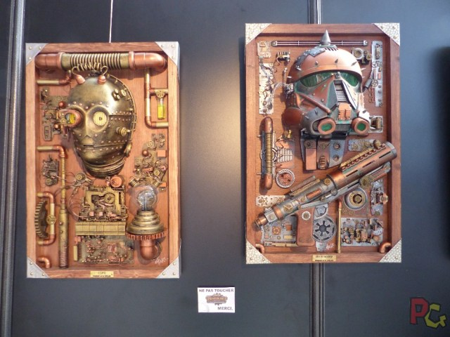 Nice Geek Expo 2018 - steampunk art