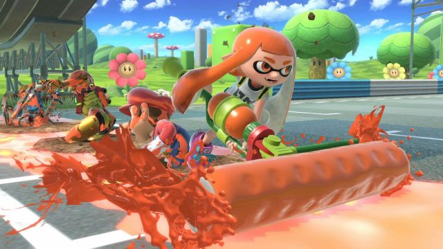 Smash Bros Ultimate - Inkling
