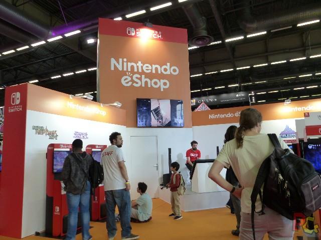 Nintendo Japan Expo 2018 - jeux eshop