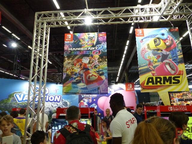Nintendo Japan Expo 2018 - jeux multi