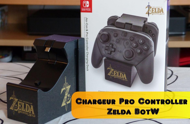 Chargeur Pro Controller Zelda