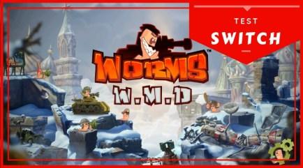 Test Worms WMD - Bannière Switch 810