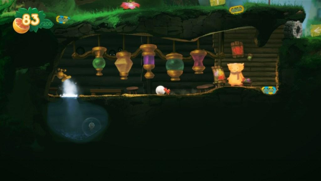 Yokus Island Express - osillon et boules de couleur