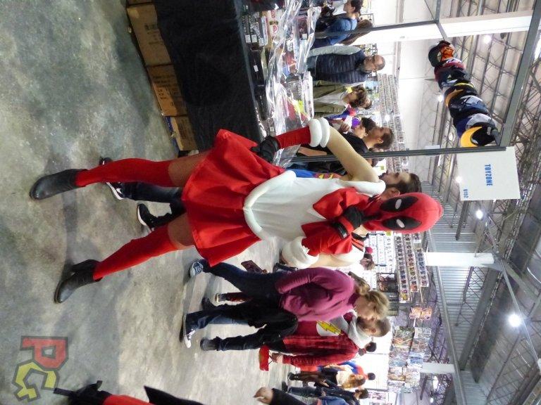 Hero Festival Saison 5 - cosplay Deadpool féminin