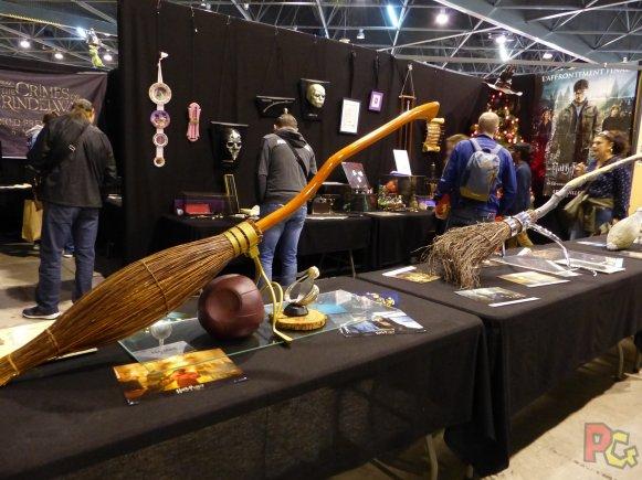 Hero Festival Saison 5 - exposition Harry Potter balais