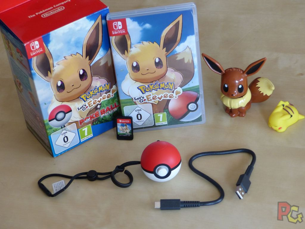 Pokemon Lets Go Evoli - contenu du coffret