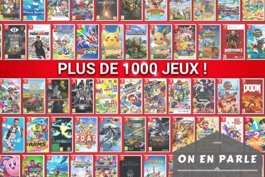 On en parle - 1000 jeux Switch - 1170x780