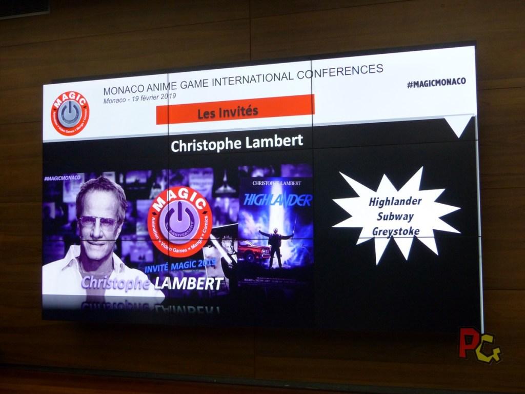 Conférence de presse 5ème MAGIC - Christophe Lambert