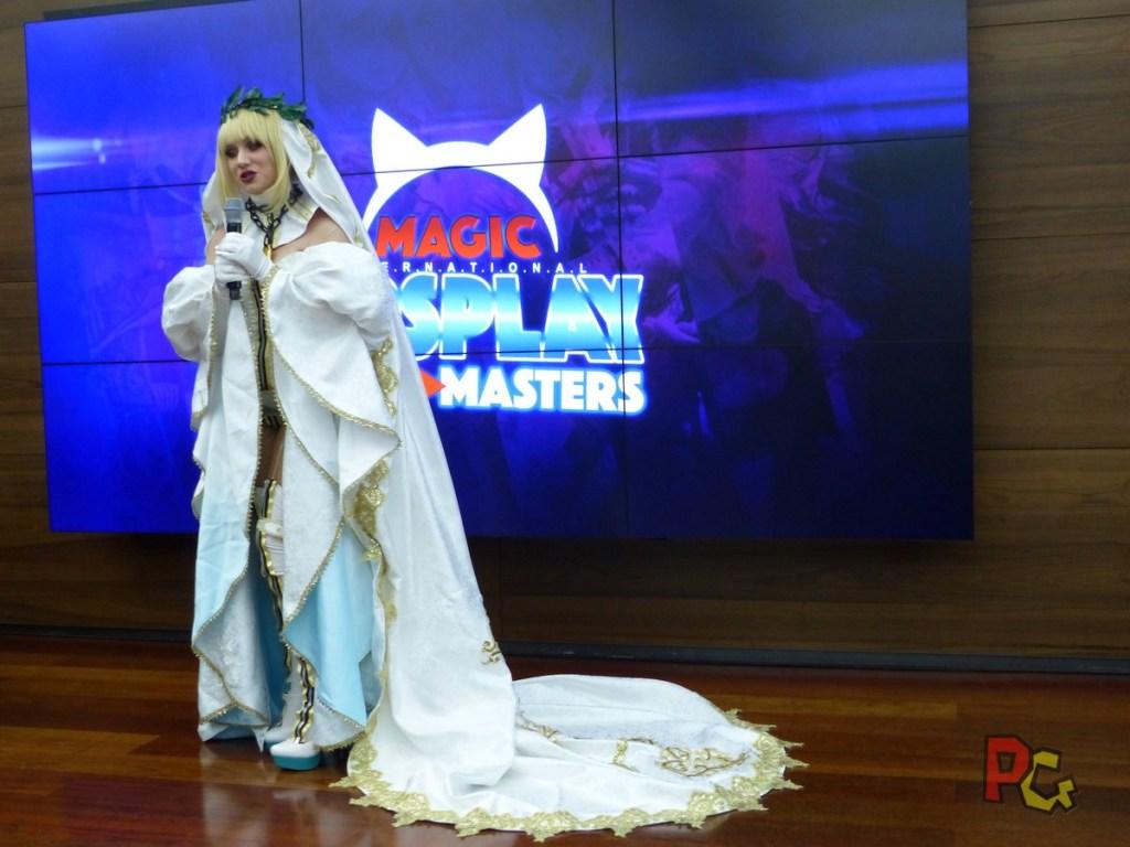 Conférence de presse 5ème MAGIC - Kotori cosplay