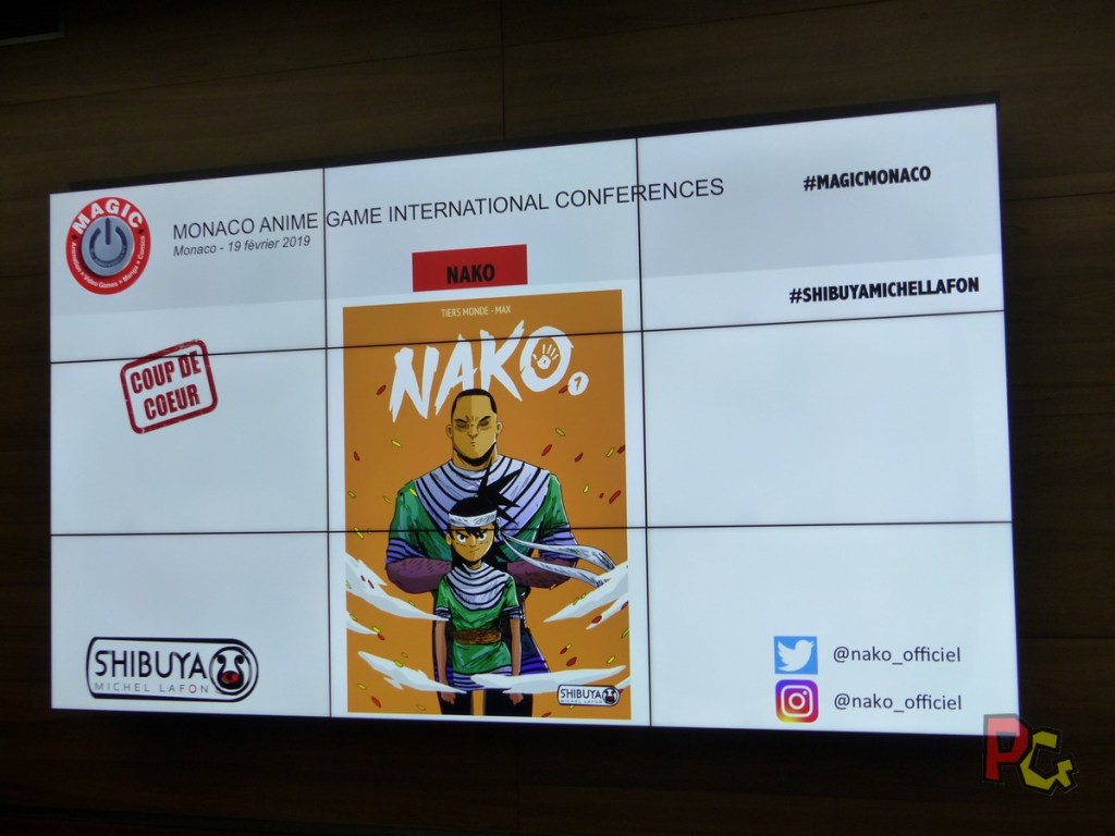 Conférence de presse 5ème MAGIC - Nako
