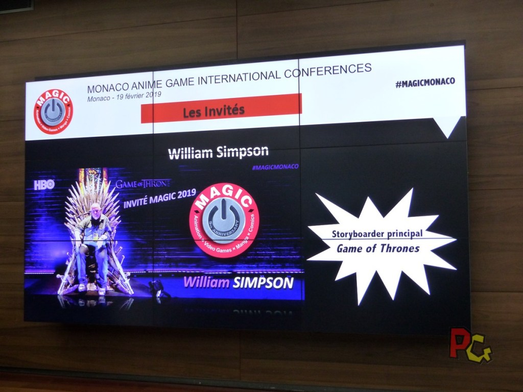 Conférence de presse 5ème MAGIC - William Simpson