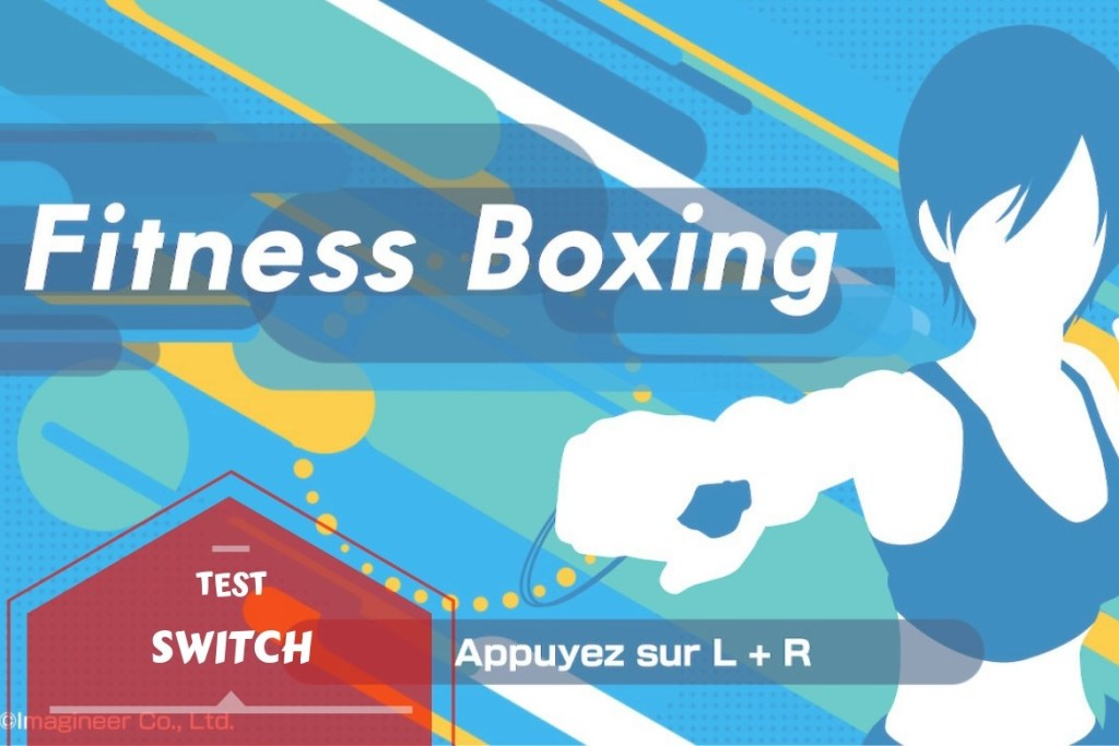 Fitness Boxing Switch - banniere ecran d'accueil