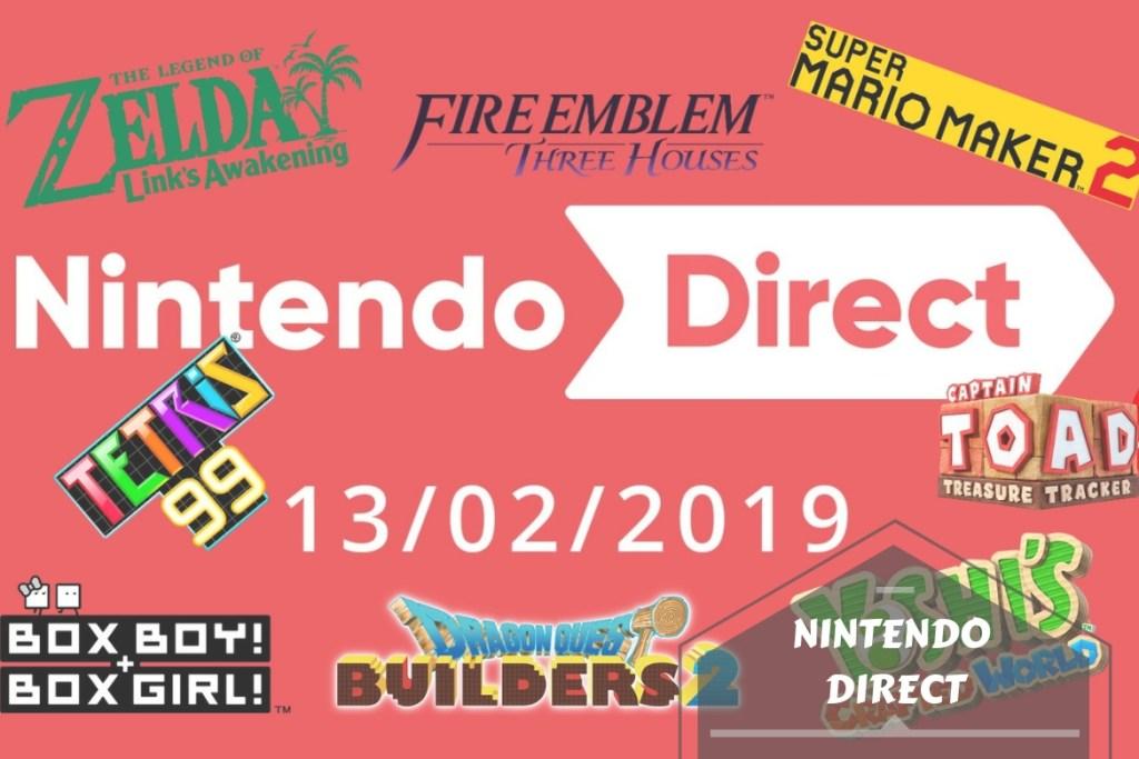 Nintendo Direct 14 février 2019