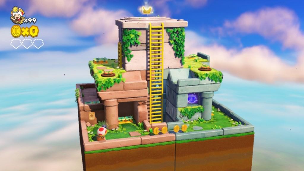 Captain Toad - 1er niveau du DLC