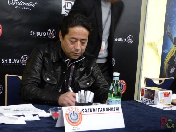 MAGIC2019 5ème anniversaire - Kazuki Takahashi en dédicace