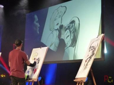 MAGIC2019 5ème anniversaire - live drawing BD et comics