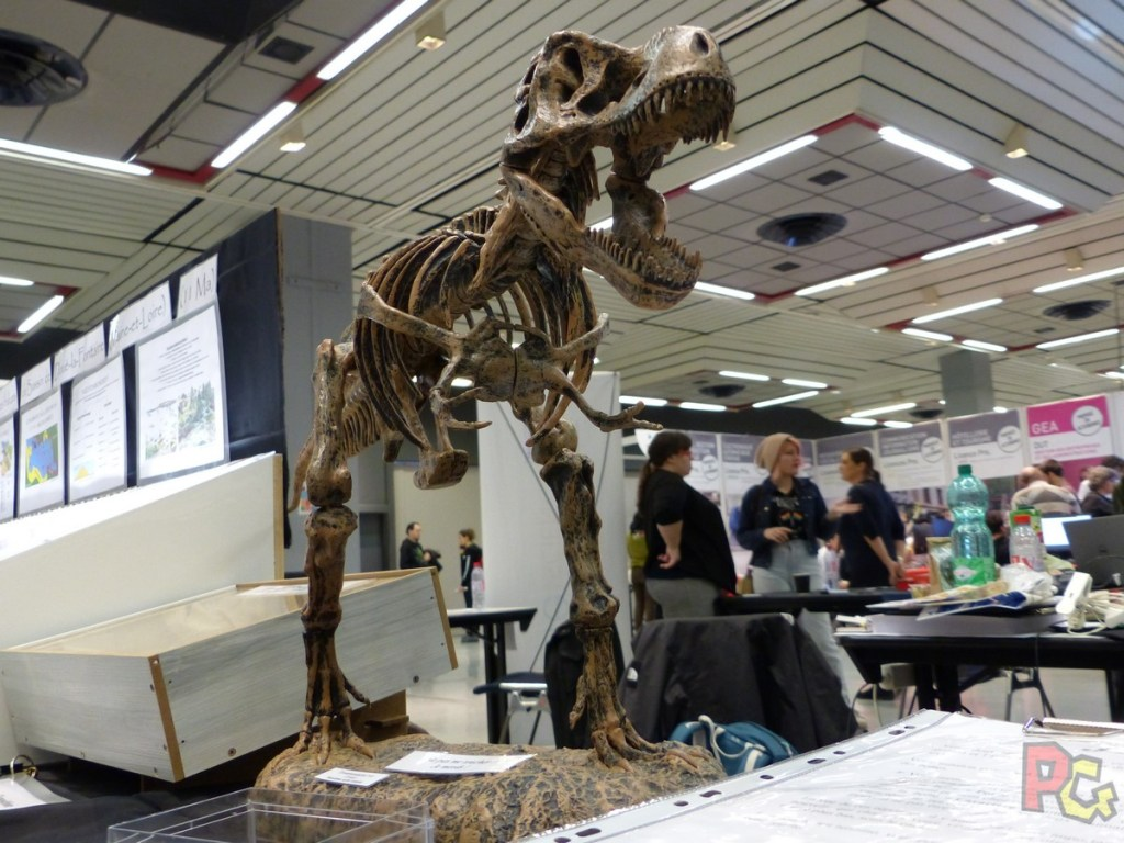 Play Azur Festival 2019 - stand paleonthologie
