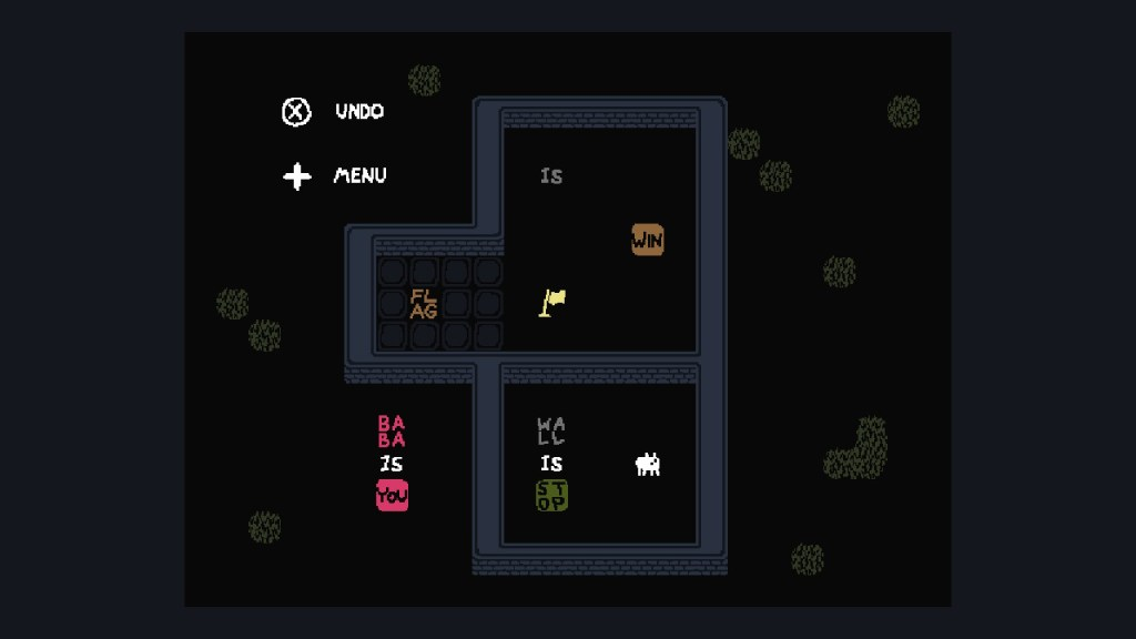 Test Baba is You Switch - niveau 1