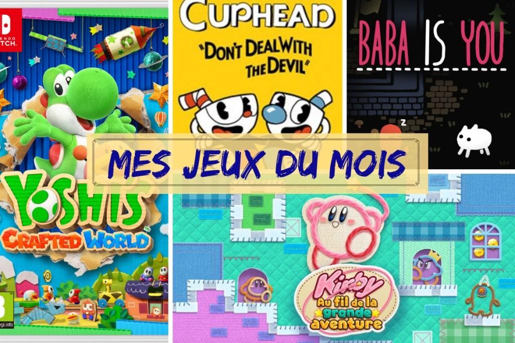 Bilan jeux mars 2019
