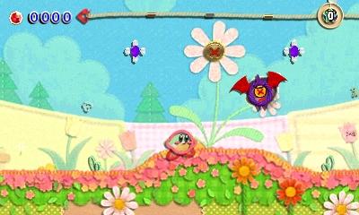 Kirby au fil de la Grande Aventure 3DS - mode diabolique