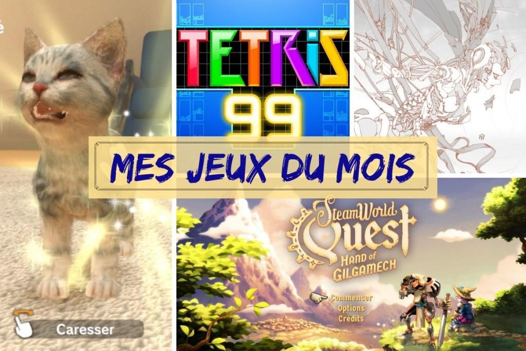 Bilan jeux mai 2019