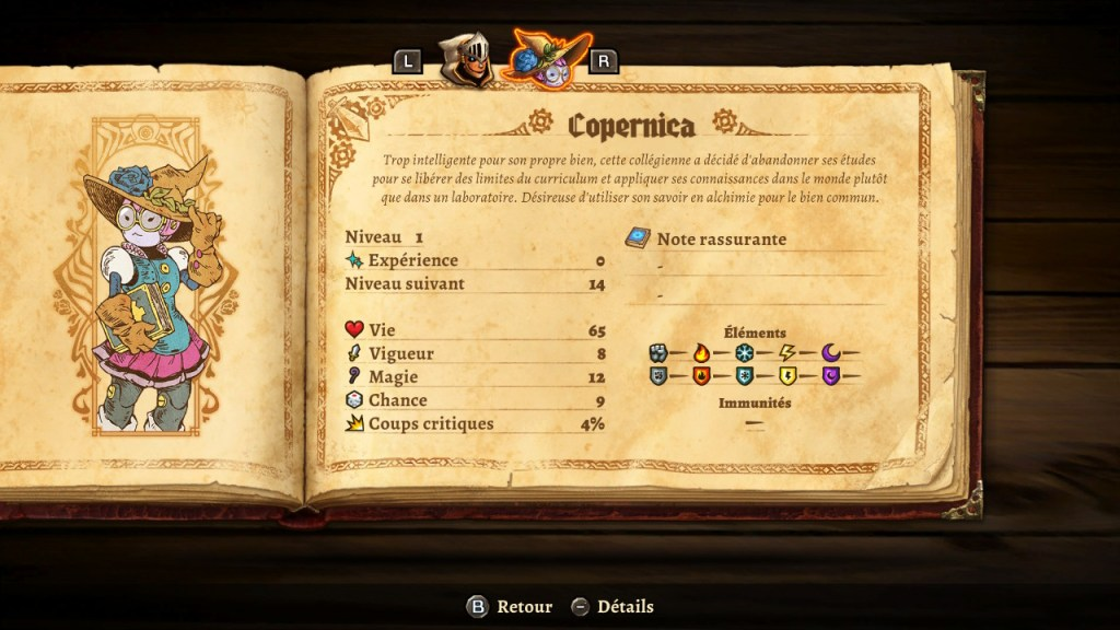 SteamWorld Quest - descriptif Copernica