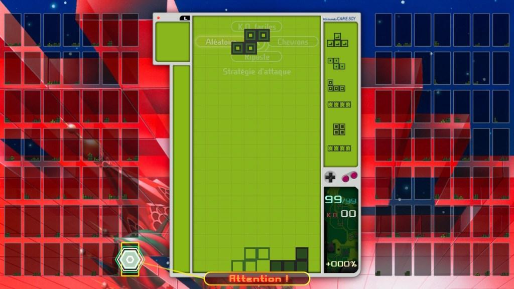 Tetris - thème GameBoy