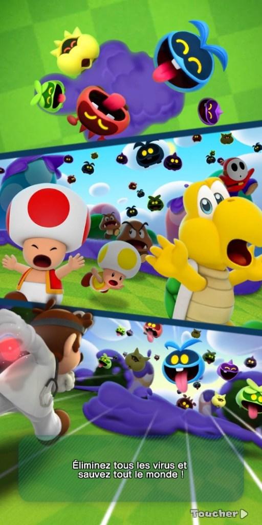 Dr Mario World - mini scénario